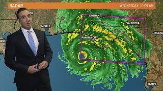 Tracking Hurricane Michael: Monster storm's outlook for October 10, 2018