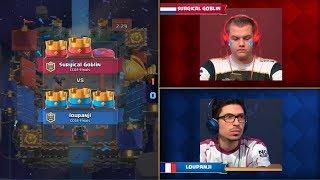 [GG] Surgical Goblin Vs Loupanji | Clash Royale Crown Championship EU Fall 2017 Finals