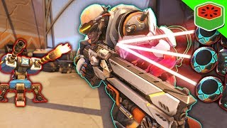TURRET GAUNTLET (GONE WRONG) (GONE SEXUAL) | Overwatch Custom Game