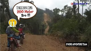 Stuck at Height - Extreme Motor Trail Climb Aceh Location