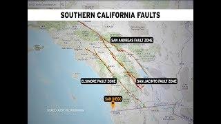 San Diego Earthquake Professor Talks Earthquake Drought