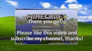 Minecraft 1.7 / 1.7.3 / 1.7.4 Cracked Launcher [Windows/Mac OS/Linux] Working/Latest