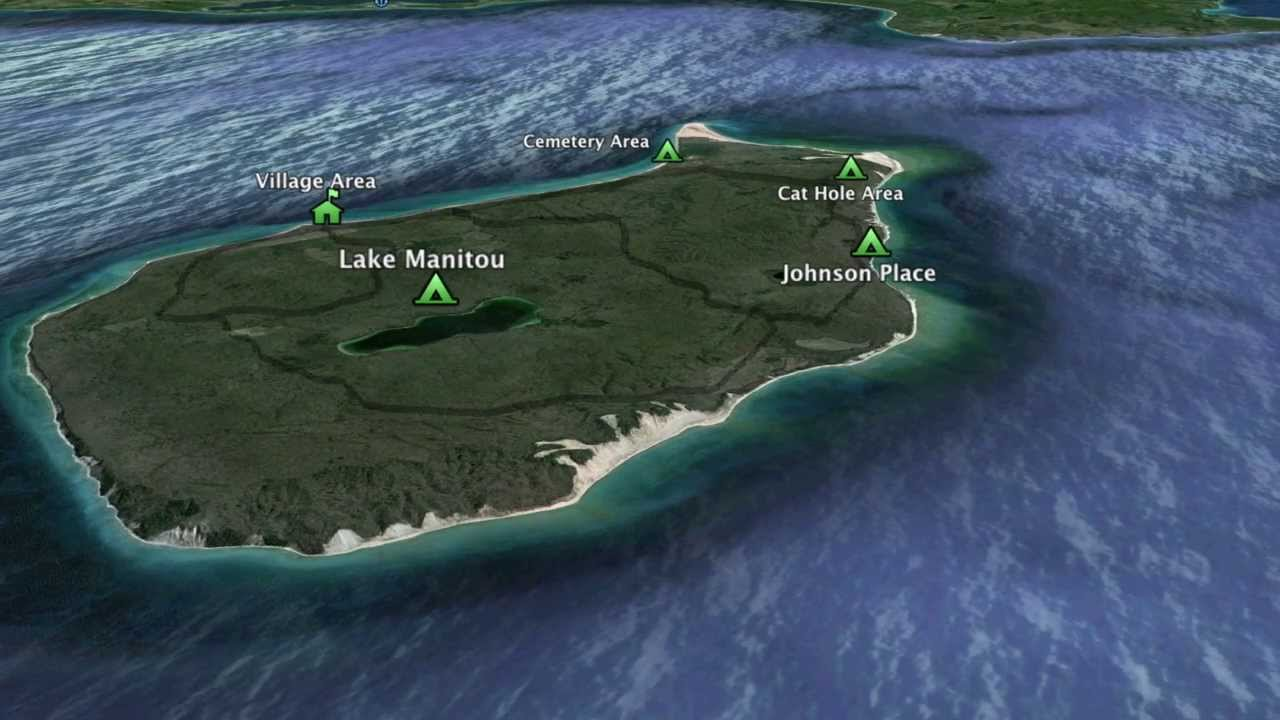 Camping South Manitou Island