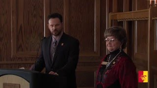 '2016 Distinguished Service Reception (full program) - Pittsburg State University
