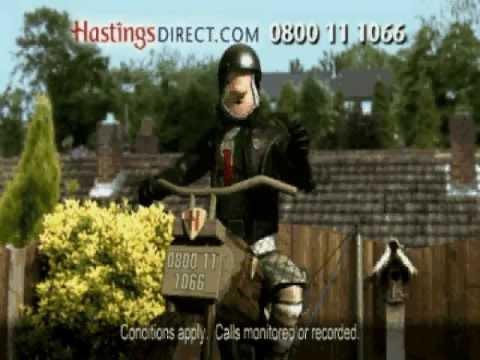 Hastings Direct Classic Bike Insurance Advert - 2005