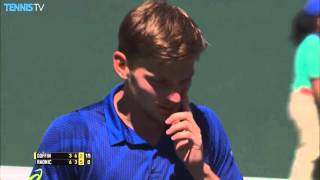Hot Shot: Goffin vs. Raonic