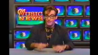 Tom Kenny - Voice of Spongebob Squarepants - Music News 1991