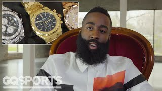 James Harden Shows Off His Insane Jewelry Collection | GQ Sports