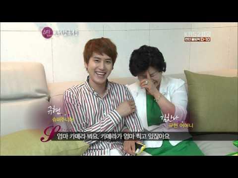 [HD] Kyuhyun & Mother (so cute)