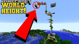 I BUILT THIS TREE HOUSE UP TO WORLD HEIGHT!!!