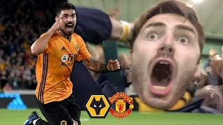 NEVES WORLDIE! (FT. VAR) Wolves Vs Manchester United 1-1 Matchday Vlog