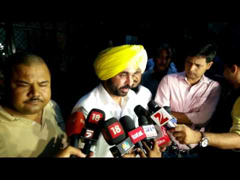 Bhagwan Mann on Chhotepur 'sting' and Press Conference