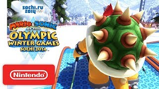 Mario & Sonic at the Sochi 2014 Olympic Winter Games - Launch Trailer