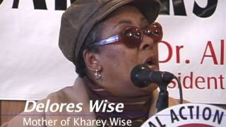 30 Frames A Second -Delores Wise at the National Action Network 12-7-2002