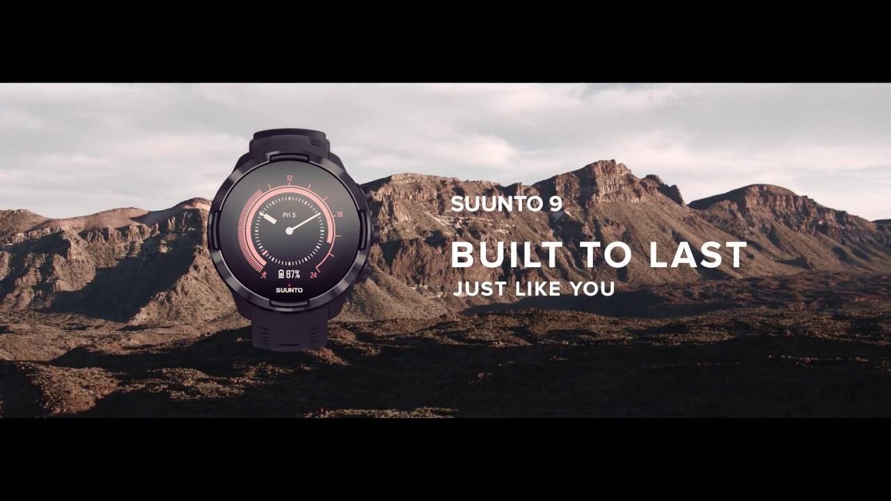 f7518137 Смарт-часы Suunto 9 G1 BARO (Black) ss050019000. Купить Смарт-часы ...