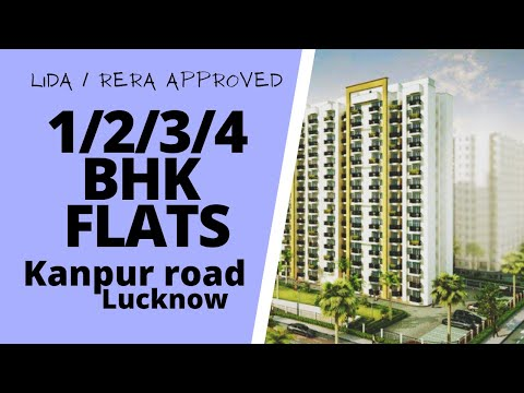 Lucknow Kanpur road 1-2-3-4 bhk flats for sale