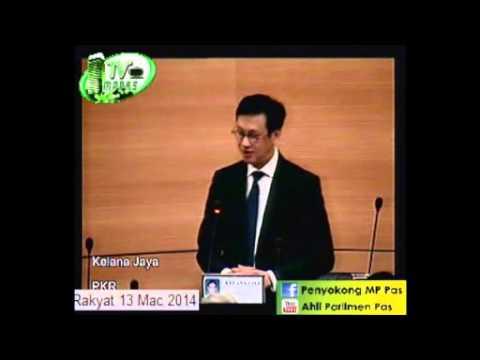 MP PKR Kelana Jaya Bahas Titah Diraja 2014 (1)