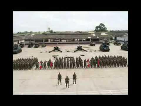 Himnos del ejercito del Peru