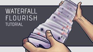 Waterfall Card Flourish Tutorial [HD]