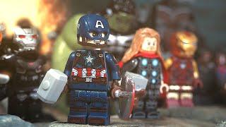 LEGO Avengers Endgame Final Battle Part 1 - 5 Avengers VS Thanos Army