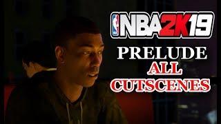 NBA 2K19 PRELUDE ALL CUTSCENES (THE WAY BACK)