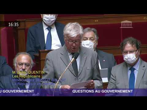 M. Didier Quentin - Covid-19 à Mayotte