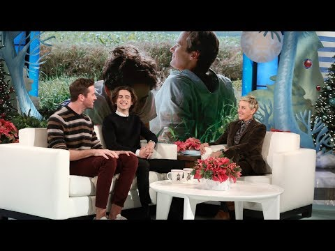 Armie Hammer and Timothée Chalamet Talk Passionate First Rehearsal