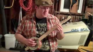 Cookie Tin Banjo: Chocki
