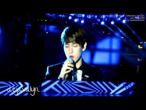 121123 SMTOWN SG Open Arms - Ryeowook, Onew, Baekhyun, Chen {fancam edited mix}