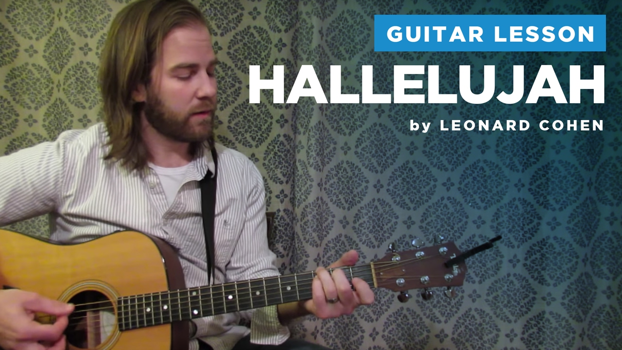 """How to play """"Hallelujah"""" by Leonard Cohen / Rufus ..."""