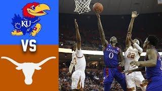 #6 Kansas vs Texas Highlights 2020 College Basketball