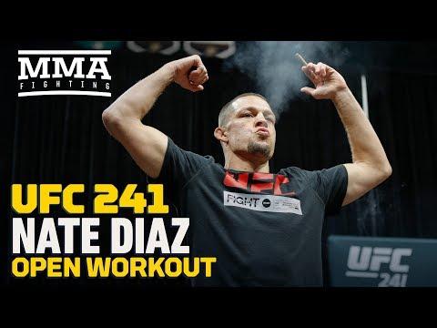 Nate Diaz przed UFC 241: Urodzony zabójca przyszedł ubić interes