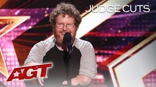 Hilarious Comedian Ryan Niemiller Talks About Dating With A Disability - America's Got Talent 2019