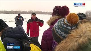 """В Омске проходит традиционная акция """"Безопасный лед"""""""