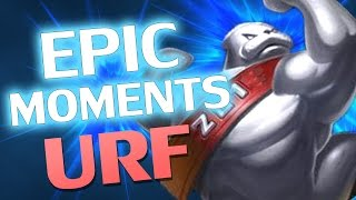 ♥ URF URF URF - Epic Moments #183