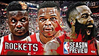 Houston Rockets NBA Season Preview: James Harden | Russell Westbrook | Clint Capela [2019-20]