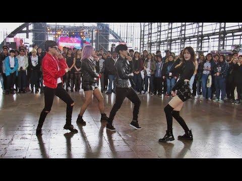 RUMOR + Oh NaNa + Chantaje 카드 K.A.R.D — Royals dance cover (2da Cumbre Joven)