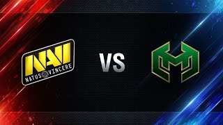 Natus Vincere vs Carpe Diem - day 3 week 8 Season I Gold Series WGL RU 2016/17