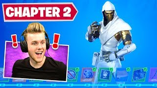 *NEW* Chapter 2 BATTLEPASS In Fortnite! (100% Unlocked)