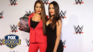 WWE's Bella twins on USWNT's start to the tournament | FOX Soccer Tonight™