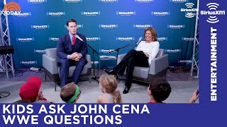 John Cena answers kids' questions on WrestleMania, Nikki Bella & more