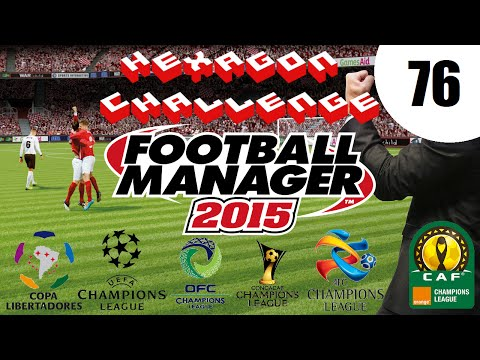 Pentagon/Hexagon Challenge - Ep. 76 UEFA CL Matches 5-6 | Football Manager 2015