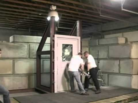 Bullet Proof Glass Test - Blast Proof Door Test - Blast & Bullet Resistant Products from Armortex