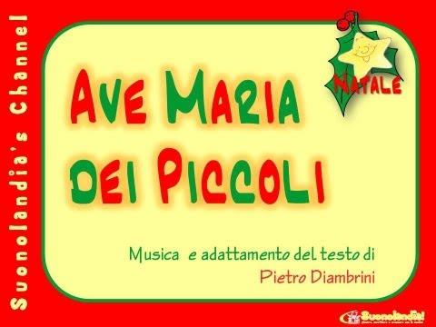 AVE MARIA DEI PICCOLI - Canzoni di Natale per bambini di Pietro Diambrini