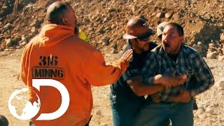 The Hoffman Crew Fall Apart After a Huge Fight Breaks Out   New Gold Rush Tuesday 9pm   Discovery UK