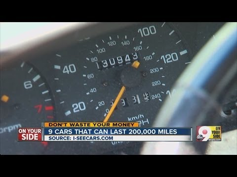 9 cars that can last 200,000 miles