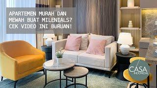 Apartemen Murah dan Mewah Buat Milenials? Cek Video Ini Buruan!