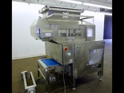 Used- Rheon V4 Pizza Dough Sheeting Line. - stock # 48242001