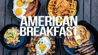 The Ultimate American Breakfast | SAM THE COOKING GUY 4K