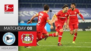 Arminia Bielefeld - Bayer 04 Leverkusen   1-2   Highlights   Matchday 8 – Bundesliga 2020/21